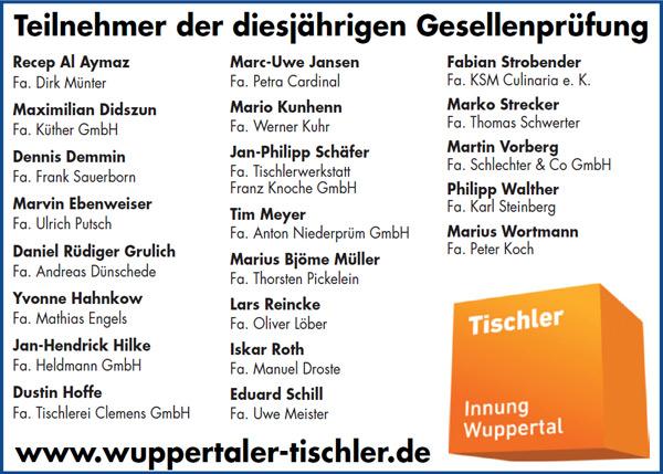 Tischler Wuppertal schreiner wuppertal great wuppertal stimme mathias engels with